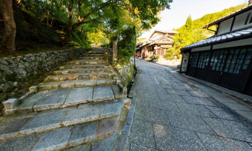 化野参道入り口