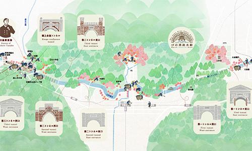 びわ湖疏水船 マップ