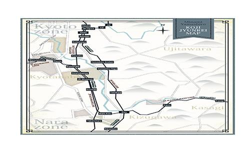 南山城巡礼マップ